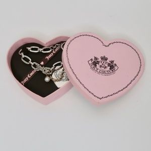 Juicy Couture Silver Link Bracelet